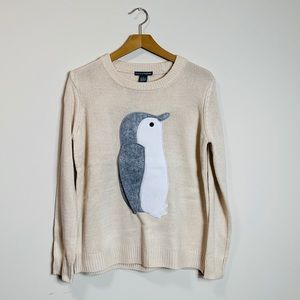 Chelsea & Theodore Penguin Sweater